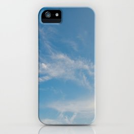 Hummingbird Cloud by Teresa Thompson iPhone Case