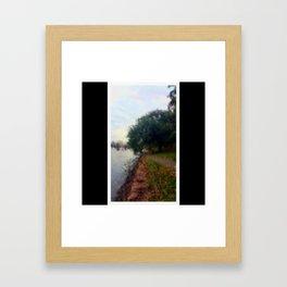 Beautiful Brisbane City - Botanic Gardens Digital Painting Framed Art Print