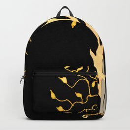 The Flaming Sword Guarding The Garden Backpack