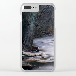 Fall River Clear iPhone Case