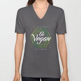 Vegan Geometry Unisex V-Neck