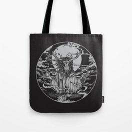 DREAMTIME - BLACK Tote Bag