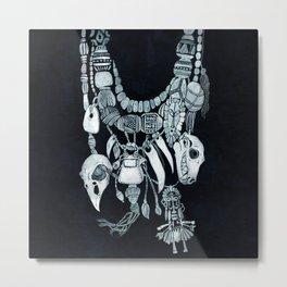 Voodoo Amulets Metal Print