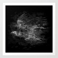 Reaper's Ride Art Print
