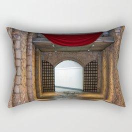 Santa Barbara Castle Rectangular Pillow