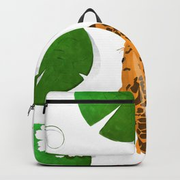 Watercolor koi fish background Backpack