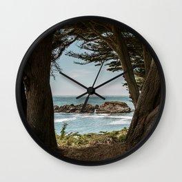 Sea Ranch Beach Lookout Printable Wall Art | California Nature Ocean Coastal Travel Photography Print Wall Clock