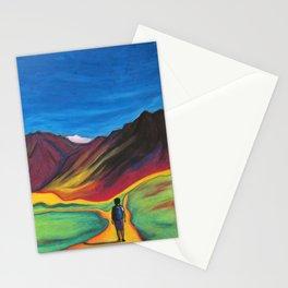 Mendoza walking Stationery Cards