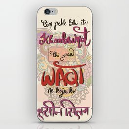 Bollywood dialogue iPhone Skin