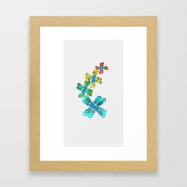 Spree Framed Art Print