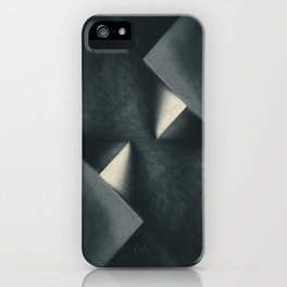Rusty Old Blades iPhone Case