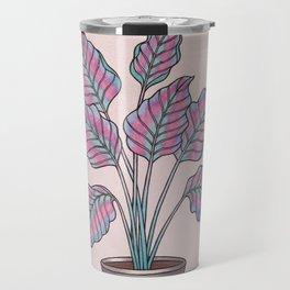 Caladium Plant Travel Mug
