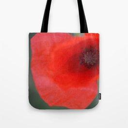 top poppy so red! Tote Bag