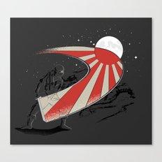 Ninja Slice II - Rising Sun Canvas Print