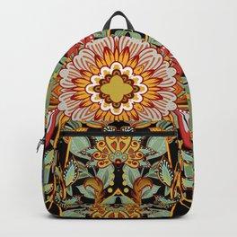 Mandala Fire Dance  Backpack