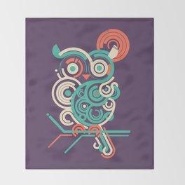 Owl 2.0 Throw Blanket