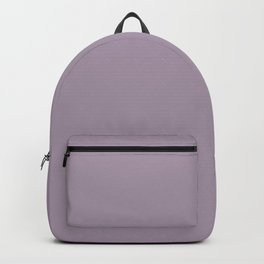 Heliotrope Gray - solid color Backpack