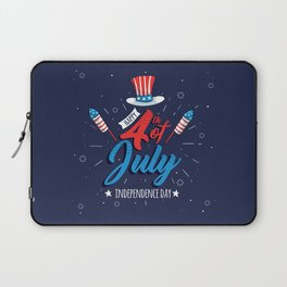 HAPPY INDEPENDENCE DAY Laptop Sleeve