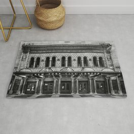 New York City Center. Rug