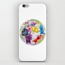 Pikmin World Fanart iPhone Skin
