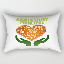 Assistant Principal Rectangular Pillow