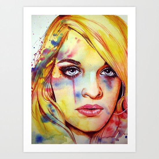 Jemma (VIDEO IN DESCRIPTION!) Art Print