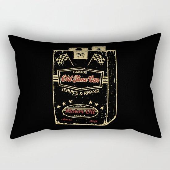 Old Time Car Oil Can  Rectangular Pillow