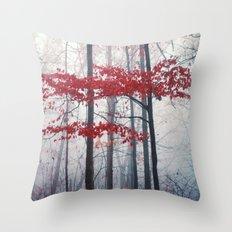Woodland Fantasy Throw Pillow