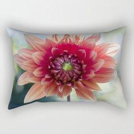 Dahlia In The Garden / 34 Rectangular Pillow