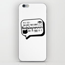 Bookstagrammer and proud iPhone Skin