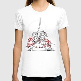 READY FOR BATTLE SAMURAI!! T-shirt