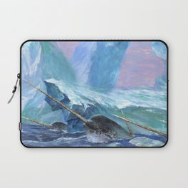 Narwhals at Play Laptop Sleeve