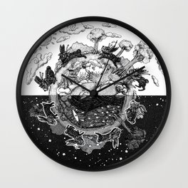 '龜兔再賽跑 The Tortoise and the Hare: Rematch' Illustration 4 Wall Clock