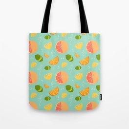 Les Agrumes (Citrus) Pattern Tote Bag