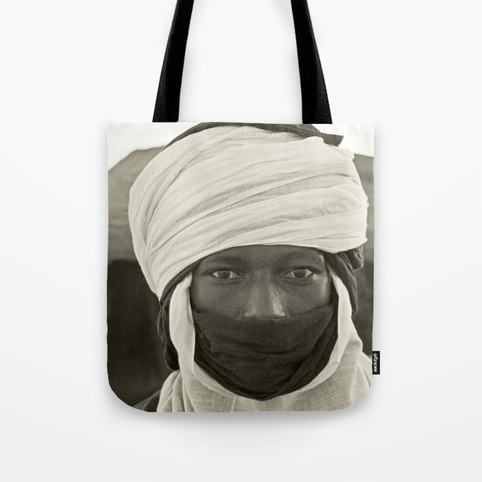 African Pride Mohamed From Timbuktu Tote Bag By Alicemutasaphotography