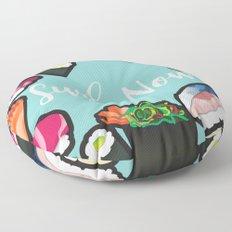 Sushi Now Floor Pillow