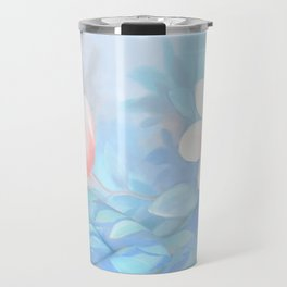 Blue Flowers Dream - Bodyart - Photography by Lana Chromium - beauty - woman - body - soul Travel Mug