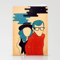annie hall Stationery Cards featuring Annie Hall by Roland Lefox