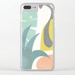 Botanika 7 Clear iPhone Case