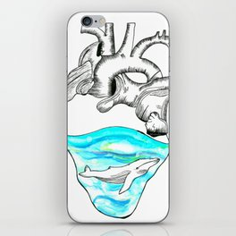 I Sea Love iPhone Skin