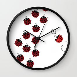 The path to Spring Wall Clock