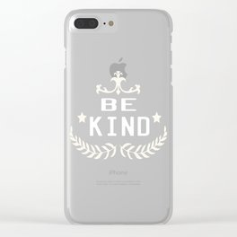 Great for all occassions Inclusion Tee PEACE Clear iPhone Case