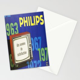 placard philips 1963 1973 des annees de Stationery Cards