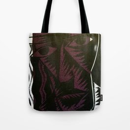 Susan 2: Quite lost - Abstract Noir Print Tote Bag