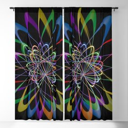 Abstract perfection 201 Blackout Curtain