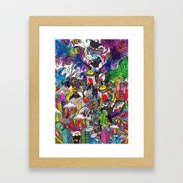 Grayscale Framed Art Print