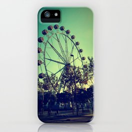 Barcelona Ferris Wheel iPhone Case
