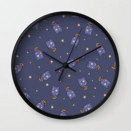 Magic Bottle Pattern II Wall Clock