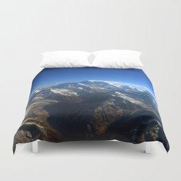 Ocean of Mountains Duvet Cover