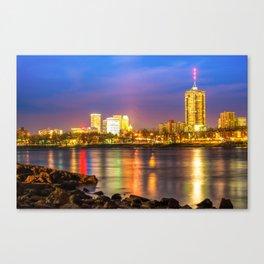 City of Gold - Downtown Tulsa Oklahoma Skyline Canvas Print